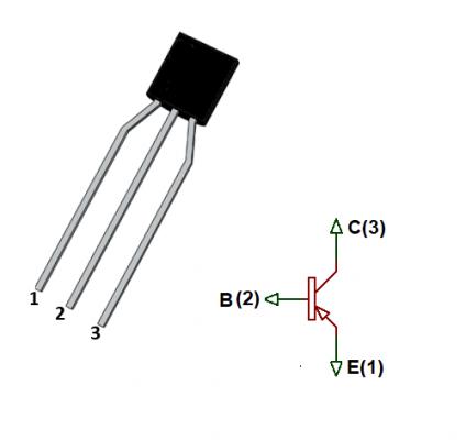2SA1015-PNP-Transistor-Pinout