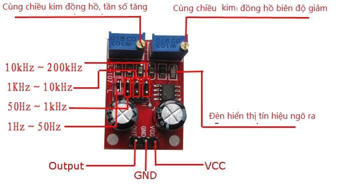 mạch tạo xung NE555