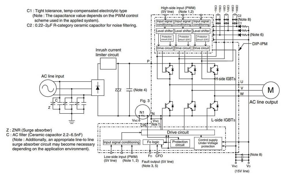 Ứng dụng PS21565-P