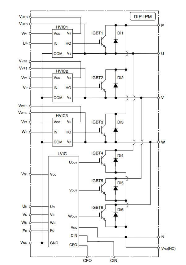 Cấu tạo PS21565-P